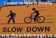 I want to lose it slowly Macclesfield Personal Trainer weight loss gym