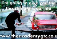 I'm going to give you the thrashing of your life Macclesfield Personal Trainer weight loss gym.pptx