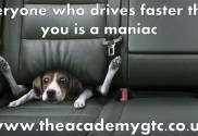 Everyone who drives faster than you is a maniac Macclesfield Personal Trainer weight loss gym